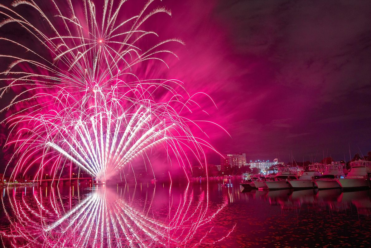 Mystic River North of Boston, the city of Somerville bids farewell to summer with Riverfest, a weekend ...