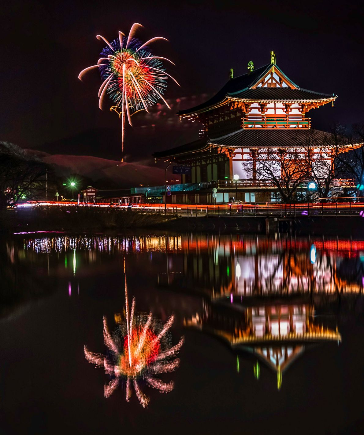 Japan Each January, the grass on Nara's Mount Wakakusayama is set alight. A spectacle in itself, which ...