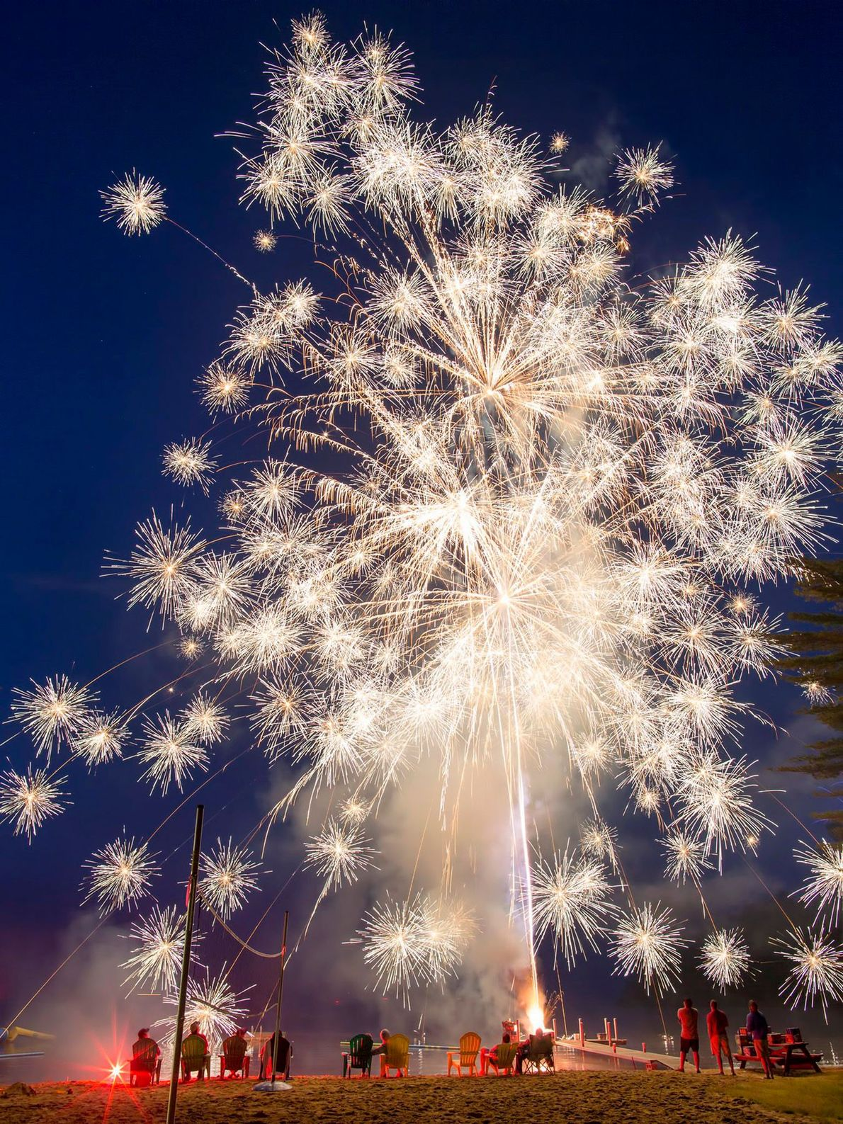 """Rindge, New Hampshire Big-city Fourth of July fireworks are incredible, writes Harasimowicz, but small family displays """"are ..."""