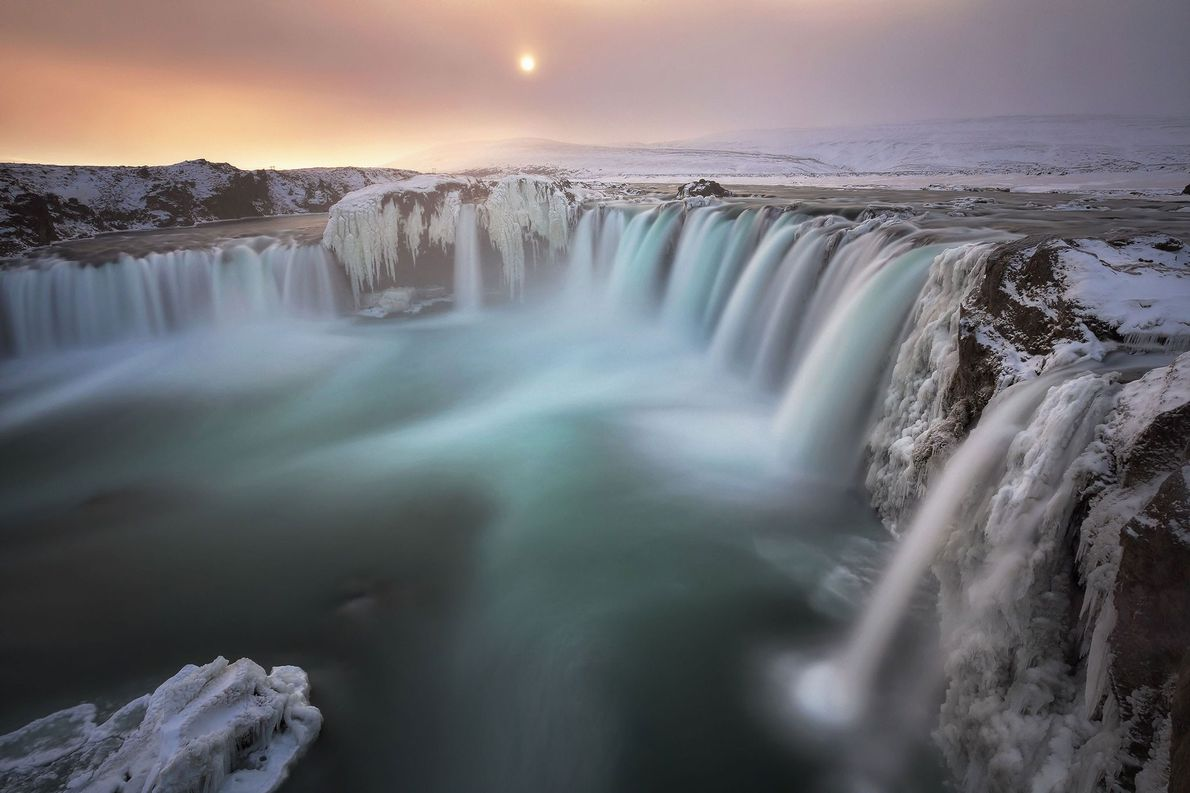 Waterfalls have captivated scientists – and photographers – throughout history. For Your Shot Photographer Ed Graham, icy ...