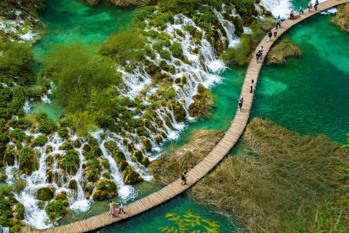 Plitvice Lakes National Park. Image: Getty