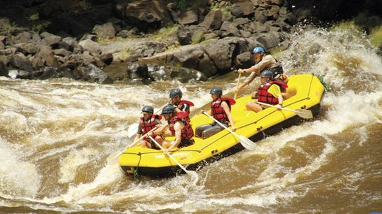 White Water Rafting, Zambia